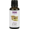 NOW Ginger Oil Pure 1 oz N7550