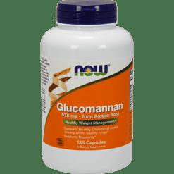 NOW Glucomannan 575 mg 180 caps N6512