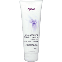 NOW Glucosamine MSM amp Arnica Lotion 8 fl oz N3283