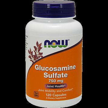 NOW Glucosamine Sulfate 750 mg 120 caps N3235