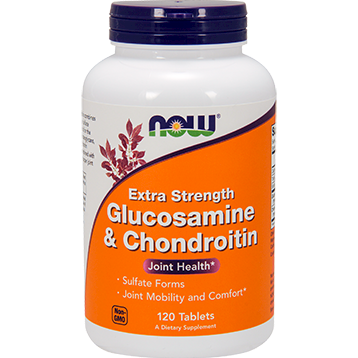 NOW Glucosamine amp Chond. Ex Str 120 tabs N3243