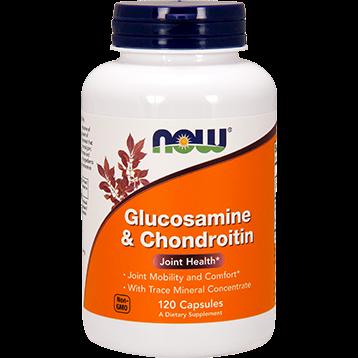 NOW Glucosamine amp Chondroitin 120 caps N3228