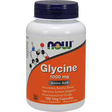 NOW Glycine 1000 mg 100 caps N0107