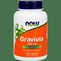 NOW Graviola 100 caps N4703