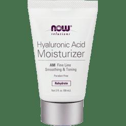 NOW Hyaluronic Acid Crème AM 2 oz N3363