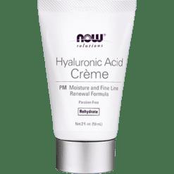 NOW Hyaluronic Acid Crème PM 2 fl oz N7781
