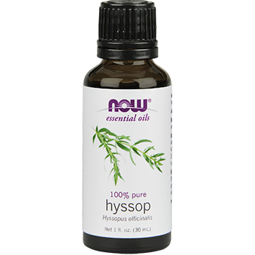 NOW Hyssop Oil 1 fl oz N75567