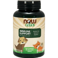 NOW Immune Support for Dogs Cats 90 chew tab N43511