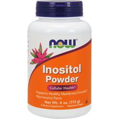 NOW Inositol Powder 4 oz N0527