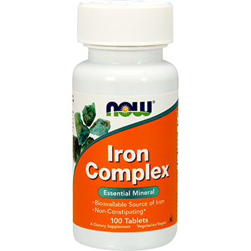 NOW Iron Complex 100 tabs N1440