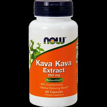 NOW Kava Kava Extract 250 mg 60 caps N4716