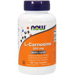 NOW L Carnosine 500 mg 100 vcaps N0079