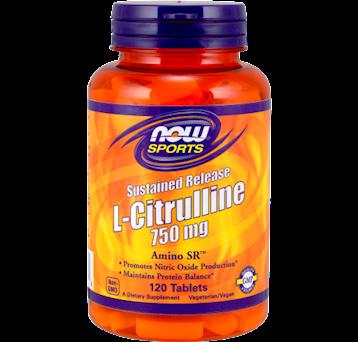 NOW L Citrulline 750 mg SR 120 tabs N01146