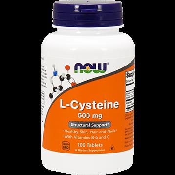 NOW L Cysteine 500 mg 100 tabs N0077