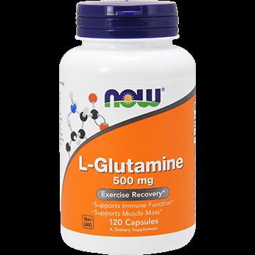 NOW L Glutamine 500 mg 120 caps N0092