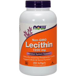 NOW Lecithin Non GMO 1200 mg 200 softgels N2212