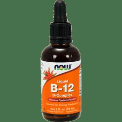 NOW Liquid B 12 B Complex 2 fl oz N0464