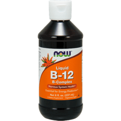 NOW Liquid B 12 B Complex 8 fl oz N0465
