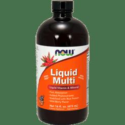 NOW Liquid Multi Wild Berry 16 fl oz N3773