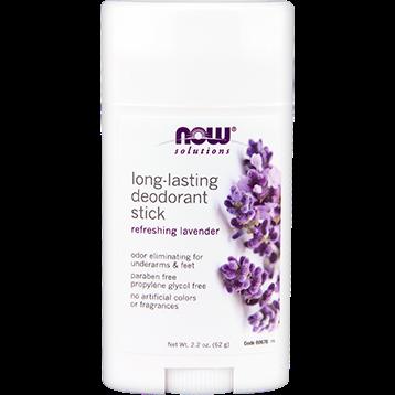 NOW Long Lasting Deodorant Lavender 2.2 oz N8067