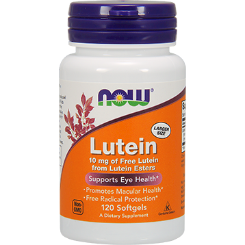 NOW Lutein 120 softgels N3057