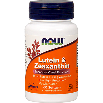 NOW Lutein amp Zeaxanthin 60 softgels N30641