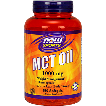 NOW MCT Oil 1000 mg 150 softgels N21960