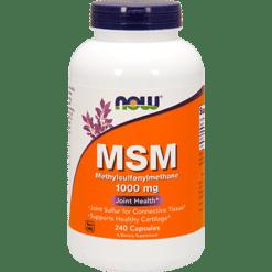 NOW MSM 1000 mg 240 caps N2121