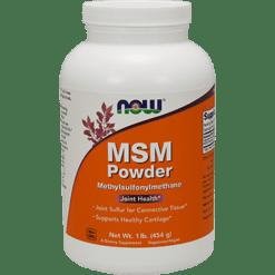 NOW MSM Powder 1 lb N2126