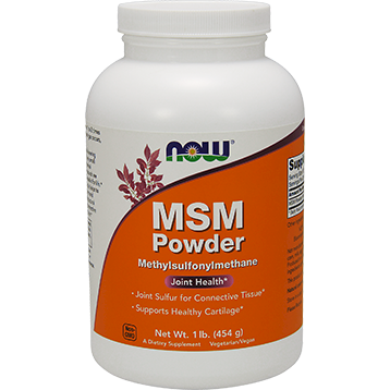 NOW MSM Powder 1 lb N2126