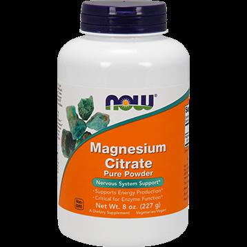 NOW Magnesium Citrate Powder 8 oz N1295