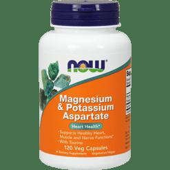 NOW Magnesium amp Potassium Aspartate 120 caps N1320