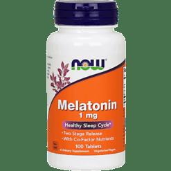 NOW Melatonin 1 mg 100 tabs N3262