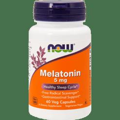 NOW Melatonin 5 mg 60 vcaps N3555