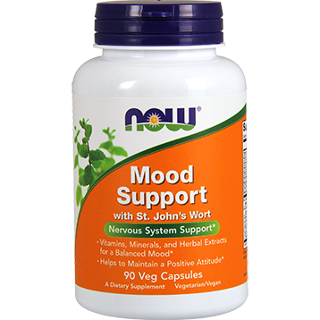 NOW Mood Support w St. Johns Wort 90 caps N3351
