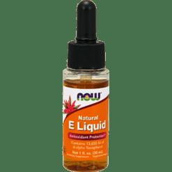 NOW Natural E Liquid 1 fl oz N0910