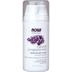 NOW Natural Progesterone Cream Lavender 3 oz N3346