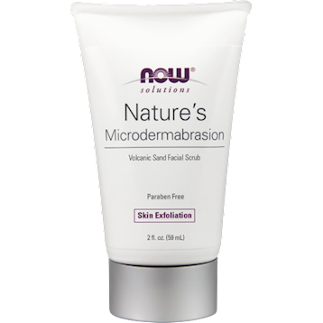 NOW Natures Microdermabrasion Scrub 2 oz N80820