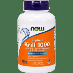 NOW Neptune Krill 1000 1000 mg 60 softgels N1627