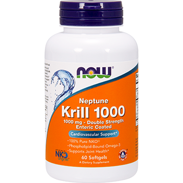NOW Neptune Krill 1000 1000 mg 60 softgels N1627
