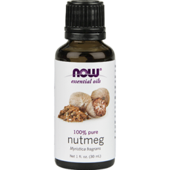 NOW Nutmeg Oil Pure 1 oz N75819