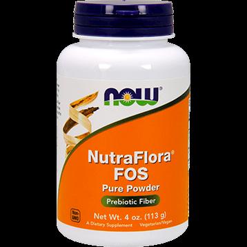 NOW NutraFlora FOS Powder 4 oz N2942