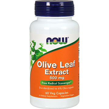 NOW Olive Leaf Extract 500 mg 60 vegcaps N4723