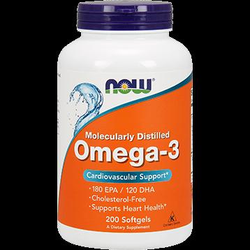NOW Omega 3 200 softgels N1652
