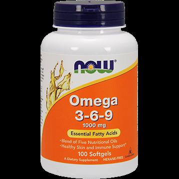 NOW Omega 3 6 9 1000 mg 100 softgels N1835