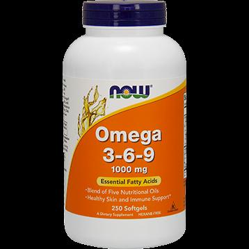 NOW Omega 3 6 9 1000 mg 250 softgels N1837