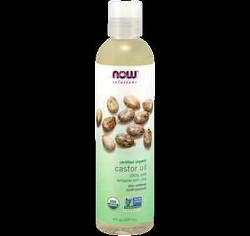 NOW Organic Castor Oil 8 fl oz N76571