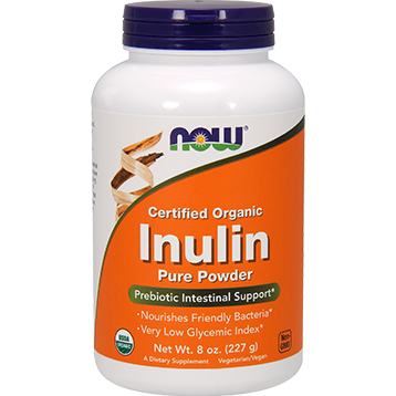 NOW Organic Inulin Powder 8 oz N2944