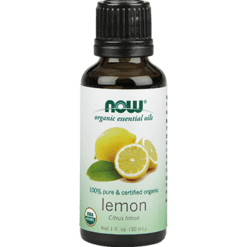 NOW Organic Lemon Oil 1 fl oz N74201