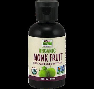 NOW Organic Liquid Monk Fruit 2 fl oz N69160